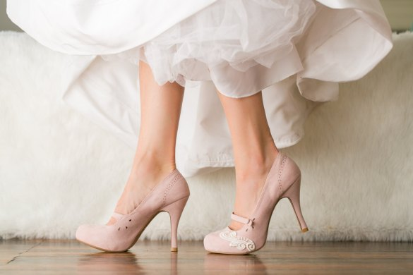 blush platforms wedding shoes for bride | via http://emmalinebride.com/bride/wedding-shoes-for-bride/