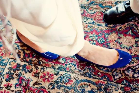 bride-blue-shoes-flats-decorative-carpet