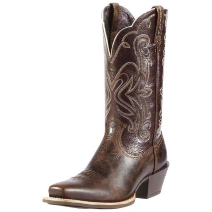 brown boots ariat