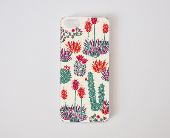 cactus phone case by PelhamGoods