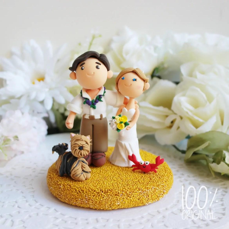 custom made cake topers 8 adorable handmade finds. Black Bedroom Furniture Sets. Home Design Ideas