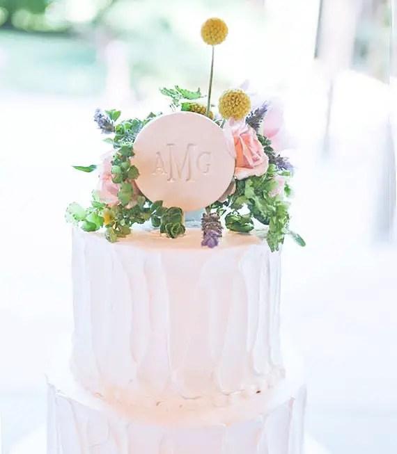 ceramic wedding cake topper