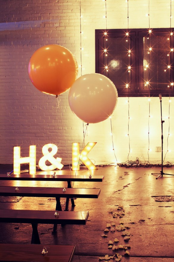 17 Amazing Wedding Marquee Lights