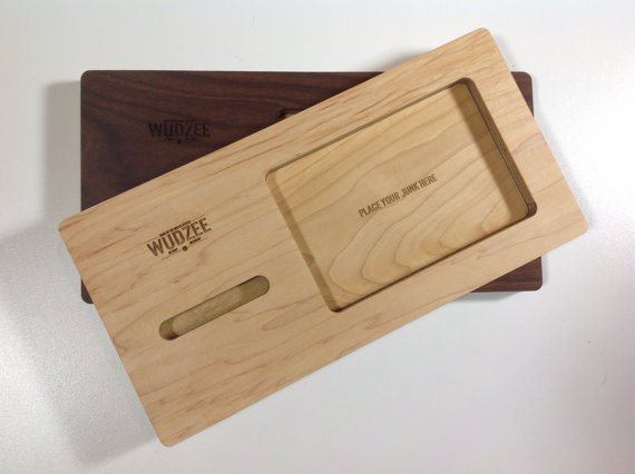 charging station valet via 12 Manly, Unique Groomsmen Gift Ideas