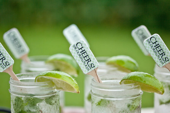 DIY Mojito in a Jar for your Wedding