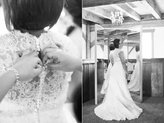 rustic chic DIY arizona wedding bride getting ready