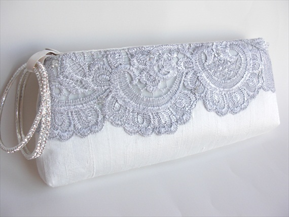 wedding wristlet - Keep Bags by Dana Cooper - bridal bag with bracelet for wristlet wear