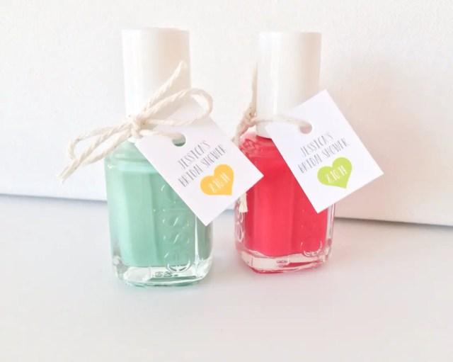 Nail Polish Bridal Shower Favors Cute Diy Idea