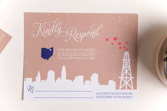 cute response card