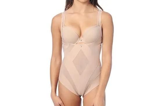 diamond shapewear via What to Wear Under the Dress
