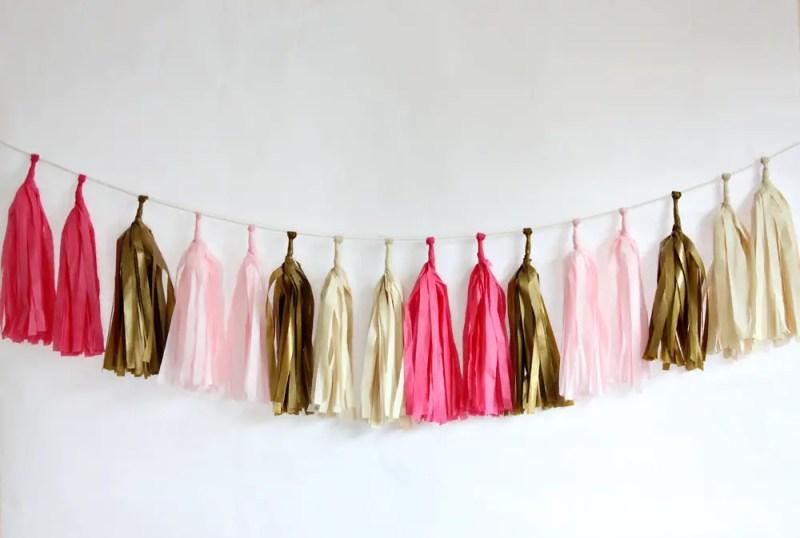 diy tissue tassel kit   Best DIY Wedding Projects via http://emmalinebride.com/decor/best-wedding-diy-projects/