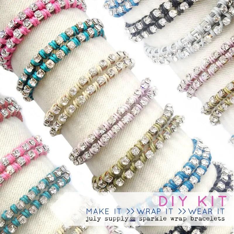 diy wrap bracelets   Best DIY Wedding Projects via http://emmalinebride.com/decor/best-wedding-diy-projects/