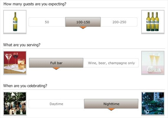 How to Stock the Bar at a Wedding - Drink Calculator