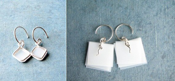 eco-friendly jewelry earrings