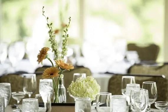 Rebecca Borg Photography - wedding flower table centerpiece