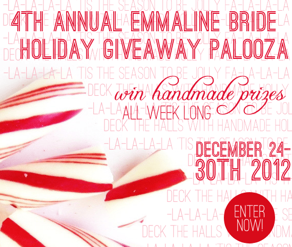 emmaline bride 4th annual holiday giveaway