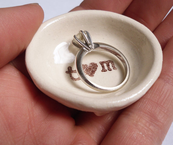 Why a Ring Dish Makes a Perfect Ring Pillow for Weddings