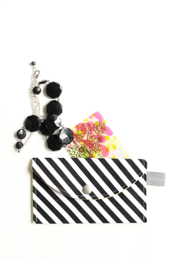 diy snap clutch purse and card case