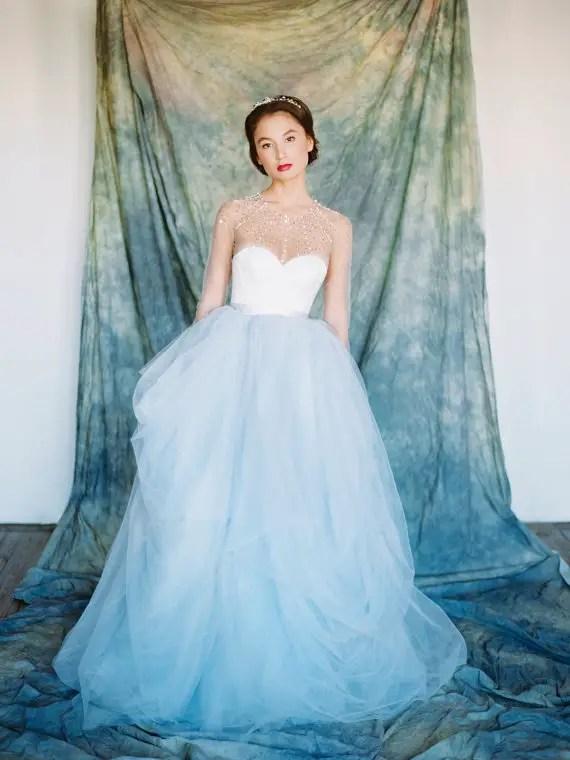 fairytale wedding gown - left