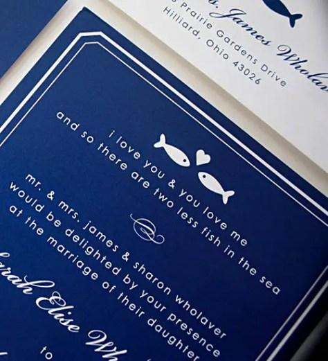Fishing Wedding Ideas: 30 Fishing Themed Wedding Ideas You'll REEL-y Love