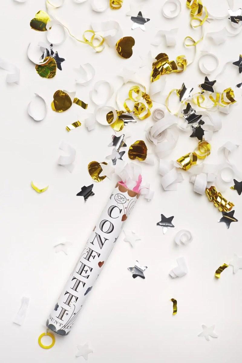 Gold confetti wedding ideas | via BHLDN Decor Ideas | http://emmalinebride.com/vintage/bhldn-decor-ideas-weddings/