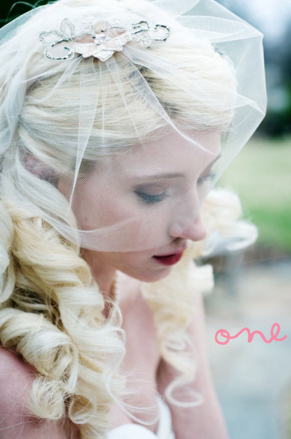 Handmade Bridal Veils - 'The Seraphine'