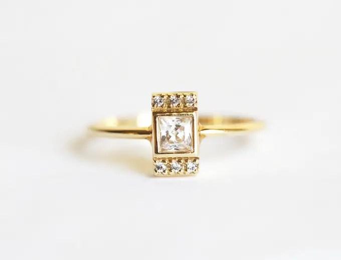 handmade engagement rings etsy | Engagement Rings Etsy | via http://emmalinebride.com/jewelry/40-best-handmade-rings-ever/
