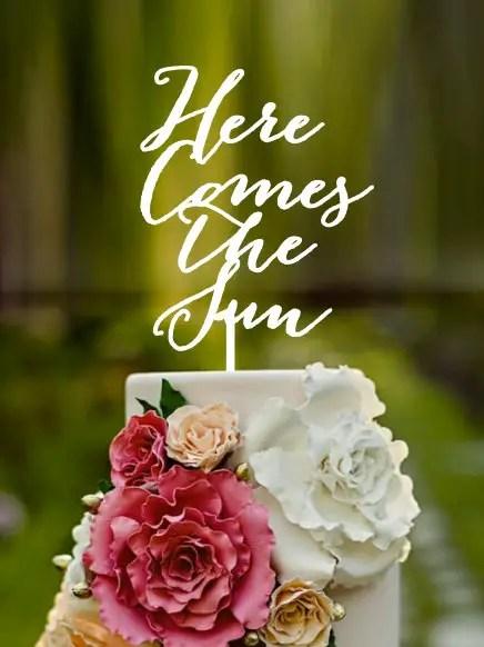Beatles Wedding Cake Topper | http://emmalinebride.com/reception/beatles-wedding-cake-topper/