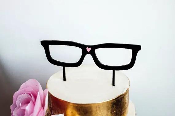 hipster cake topper 1
