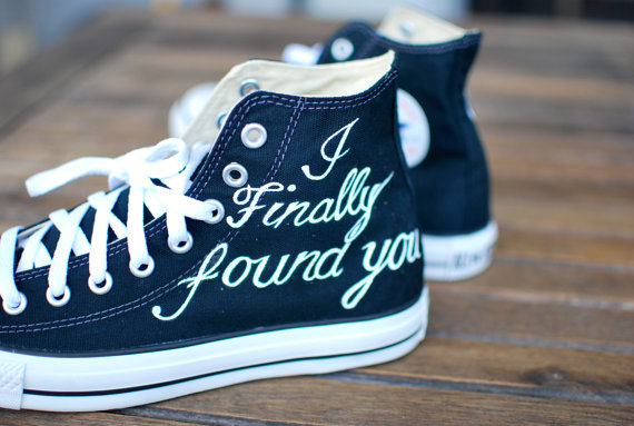 Converse Wedding Shoes: Where to Find for the Groom?