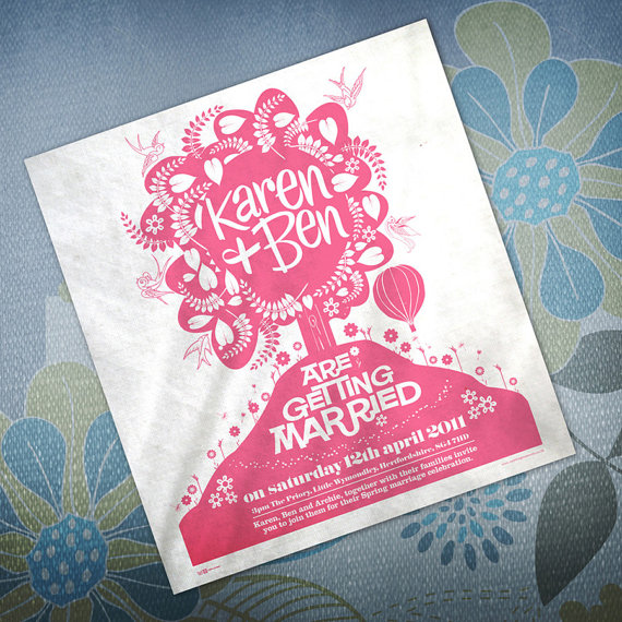 invitation tea towels