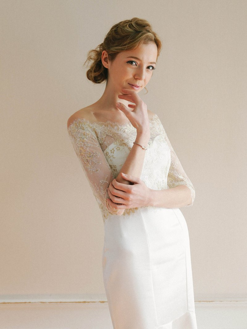 Bridal cover ups / toppers | http://emmalinebride.com/bride/wedding-cover-ups/