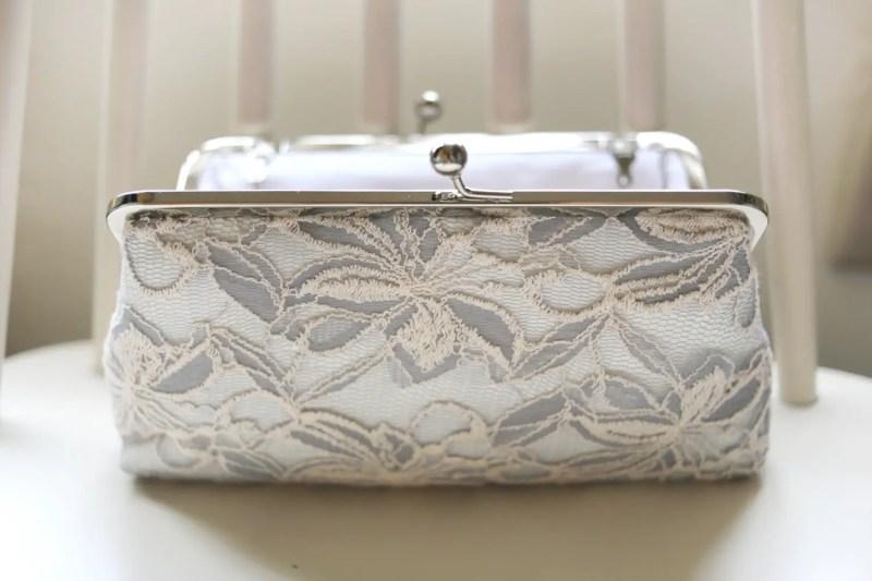 lace photo clutch