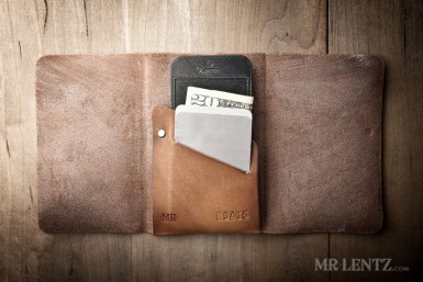 leather iphone groomsmen wallets