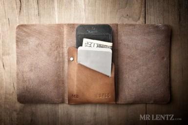 leather iphone groomsmen wallets