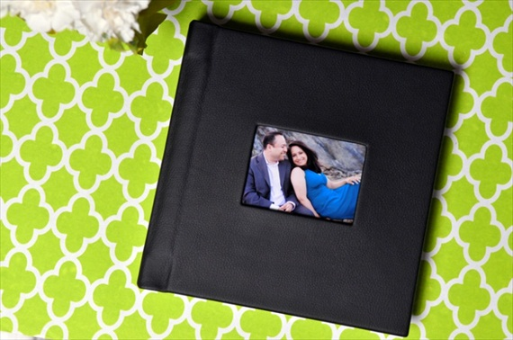 leatherbound handmade wedding albums