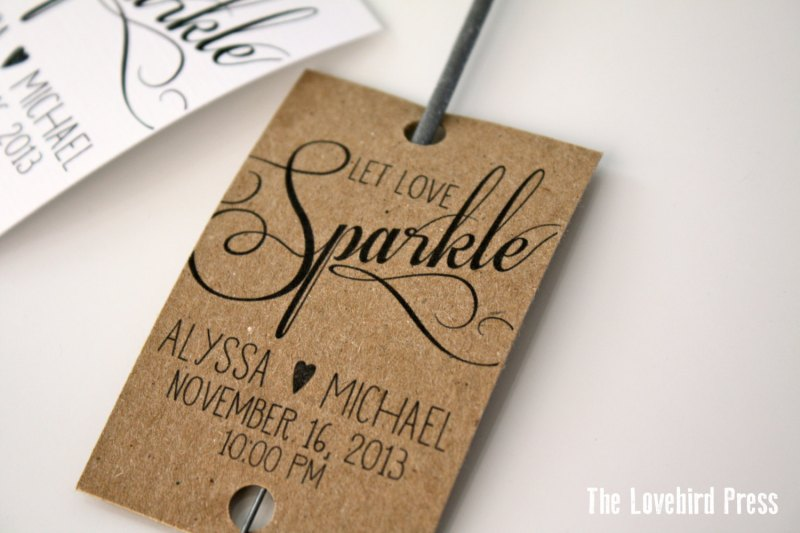 let love sparkle sparklers tags
