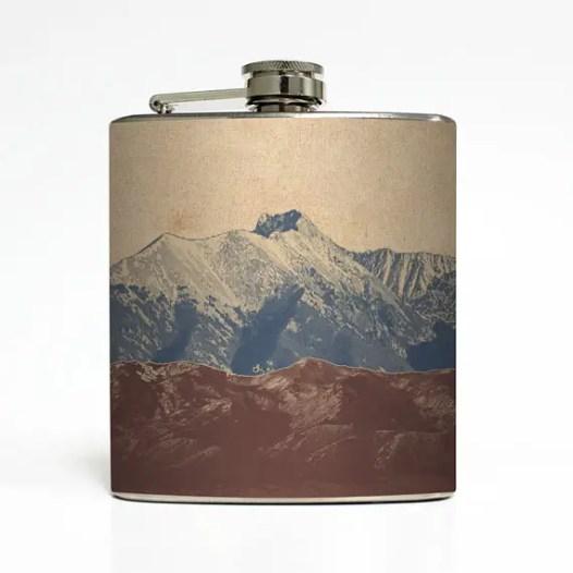 liquid courage mountain flask