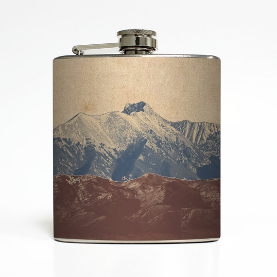 liquid courage mountain flask