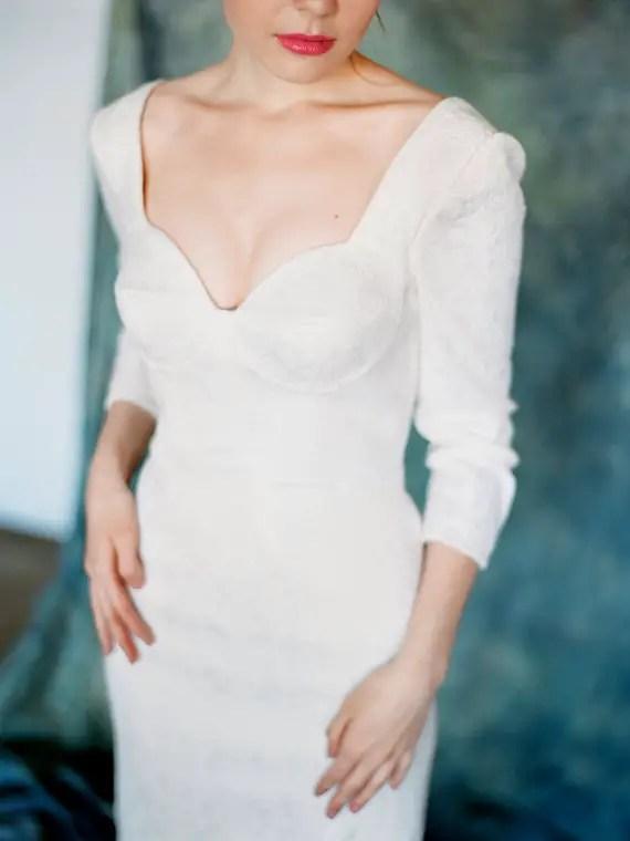 long sleeve dress - left