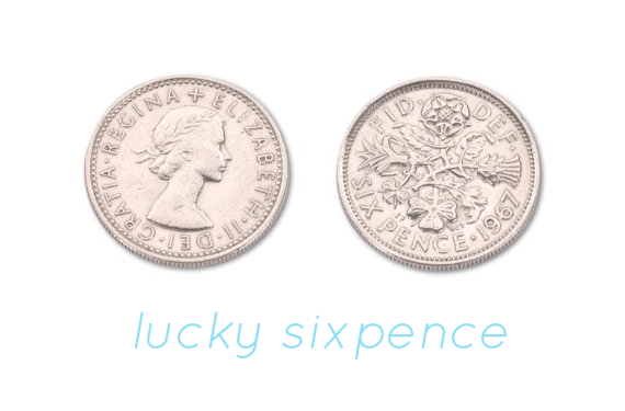 lucky sixpence for your shoe - Top 8 Wedding Day Gifts for the Bride