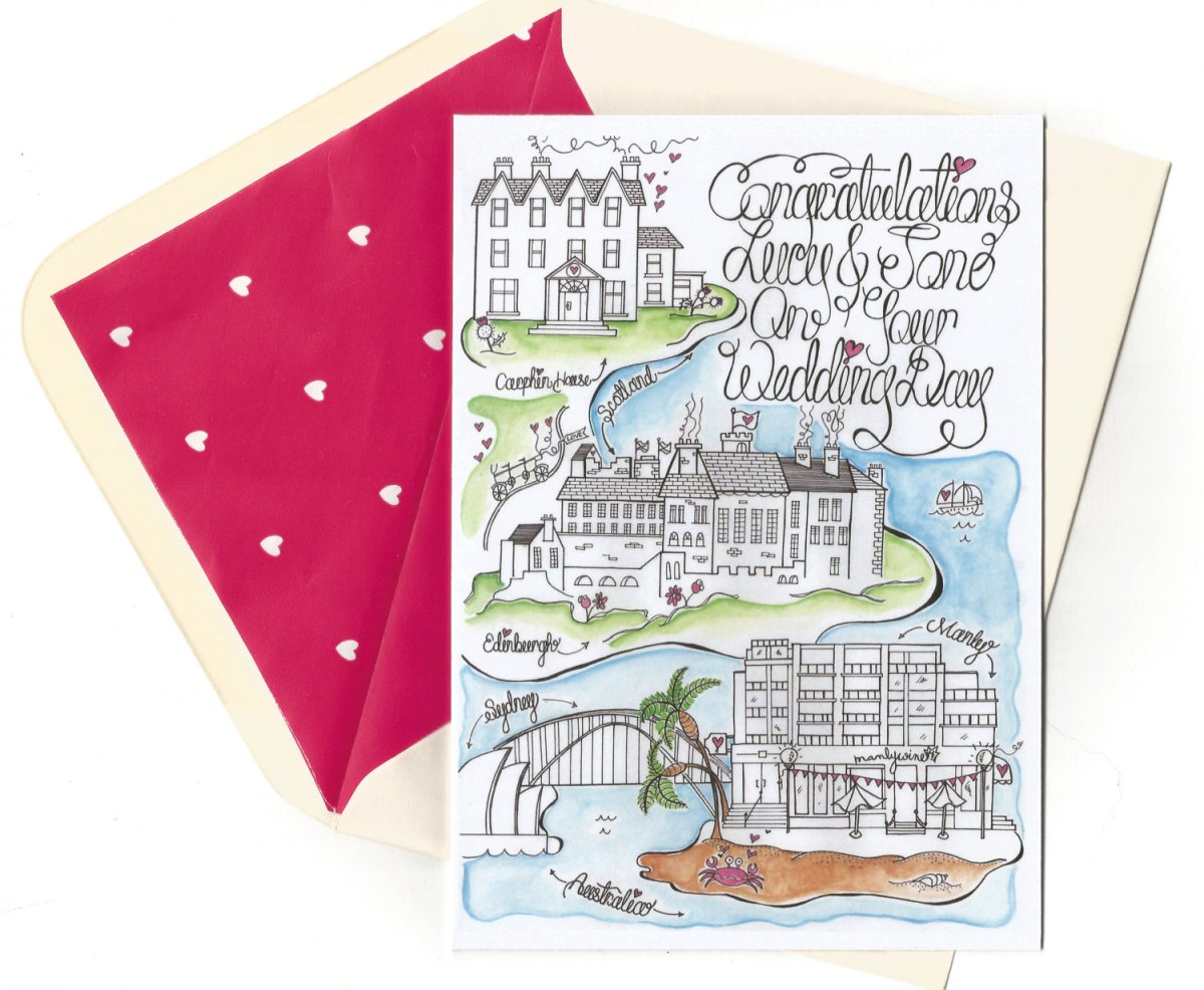Wedding Map for Guests? | Emmaline Bride Wedding Blog