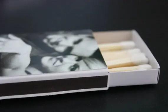 matchbox favors - hope and fancy