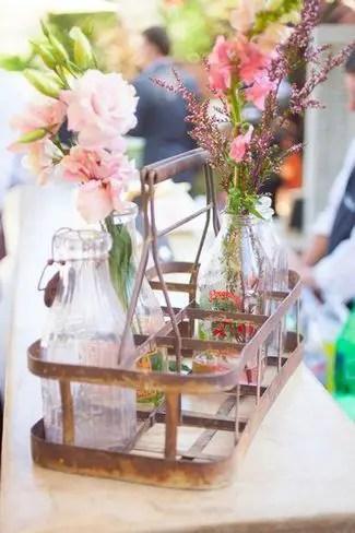milk-bottles-vases-in-vintage-carrier