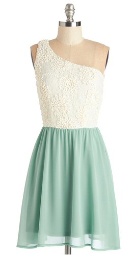 mint-and-white-bridesmaid-dress-one-shoulder