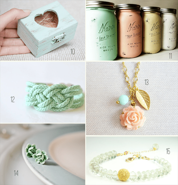 mint wedding ideas