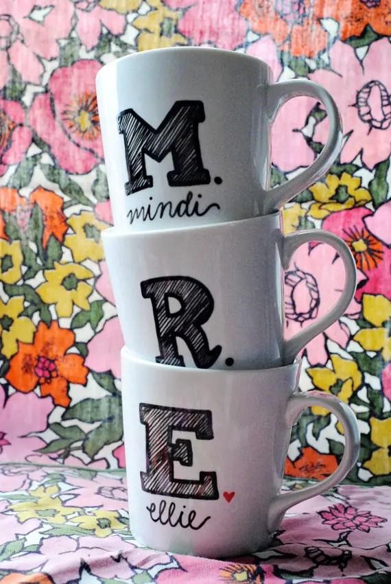 monogram mugs 3
