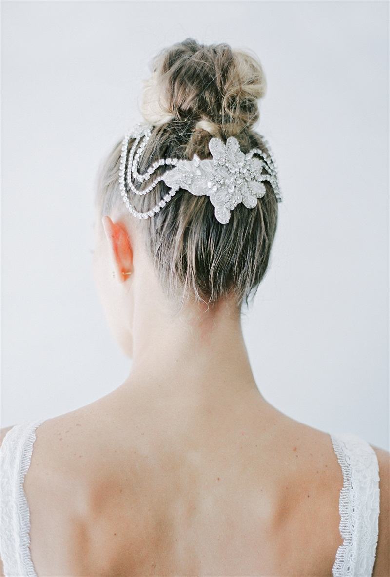 2016 Bridal Accessories Collection | by Nestina Accessories | Photo: Melanie Gabrielle Photography
