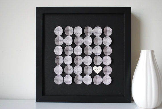 personalized 3d wedding song art via Top 10 Non Registry Wedding Gifts