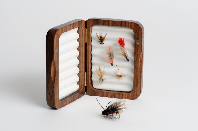 personalized fly fishing box by engraving pro